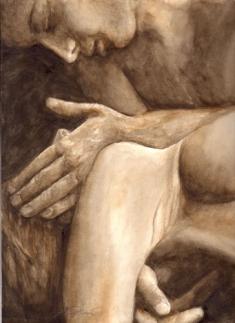 """AD_Illustration-5-""""Staerker-als-der-Tod ..."""" zum_Kunstbildband von Andrea Denis"""