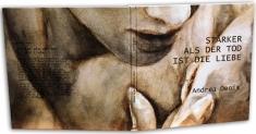 """Andrea Denis_Cover  """"Staerker-als-der-Tod ...""""_Kunstbildband von Andrea Denis"""