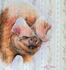 Tapetenschwein