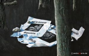 Kunstgalerie Werke Missing Baucis und Philemon