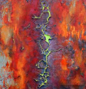 Kunstgalerie Werke Bäume und Rinden