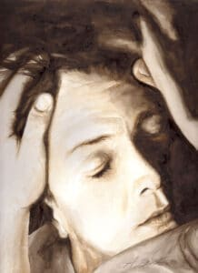 """Illustration zum Kunstbildband - Stärker als der Tod ist die Liebe"""""""